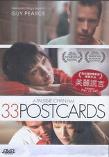 33 Postcards DVD Guy Pearce Zhu Lin Todd Sanders Pauline Chan NEW R0 Eng Sub