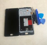 LCD Display Screen Digitizer For OnePlus 3 3T A3000 A3003 A3010 + Frame &Button