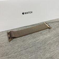Genuine Apple Watch Gold Milanese Loop Strap 38mm/40mm