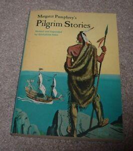 1967 MARGARET PUMPHREY'S PILGRIM STORIES Elvajean Hall Illus Jon Nielsen SBS