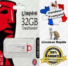 Clé USB de 4 8 16 32 ou 64 Go Gb Giga ( ADATA / KINGSTON / SANDISK / TRANSCEND )
