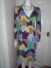 Boden Jersey Long Sleeve Dresses Midi