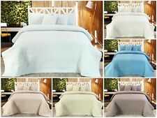 Handmade Cotton Quilted Bedspread Set Quilt Bed Set Chloe