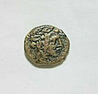 PONTOS, AMISOS, AE 22, UNDER MITHRADATES VI, C. 85-65 BC, DIONYSOS CISTA MYSTICA