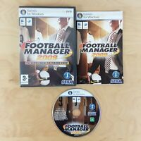 FOOTBALL MANAGER 2009 PC WINDOWS MAC COMPLETE WITH MANUAL FREE P&P