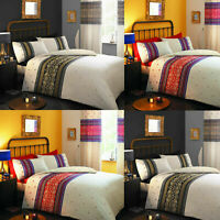 Moroccan Persian Duvet Cover Set With Pillowcase Poly cotton Bedding All Sizes