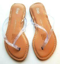 GAP Girls Clear Jelly Flip Flops Shoes Summer Sandals Kids Girl Beach Flipflops