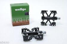 Wellgo B137 Mountain Bike Pedals in Black