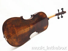 """Used/Old 16"""" Viola - Antique Style Hand-made One Back +Square Case  # VA009"""