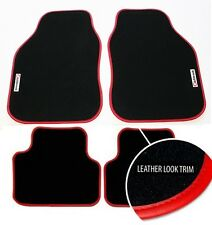 Perfect Fit Richbrook Black Car Mats for VW Golf Mk7 2013> with Red Leather Trim