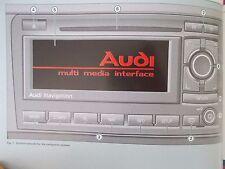 AUDI SAT NAV NAVIGATION SYSTEM (BNS 5.0) HANDBOOK A3 A4 S3 S4 TT (ACQ 5721)