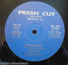 "SUPREME ~ Rock Rollin ~ 12"" Single USA PRESS"