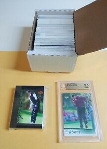 2001 Upper Deck Complete Golf Set (200) Tiger Woods bgs 9.5 GEM Tales Set (30)