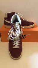 Nike blazer mid vintage suede rosse 41