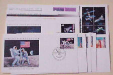 MARSHALL ISLANDS FDC  13 DIFF. SPACE  CACHET UNADDRESSED