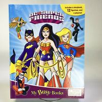 My Busy Books DC SUPER FRIENDS Storybook 12 Figurines Playmat Playset