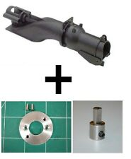 """28mm KMB Jet Drive """"COMBO 3""""  w/Adapter Plate and 5mm shaft ext. (Riva-Calzoni)"""