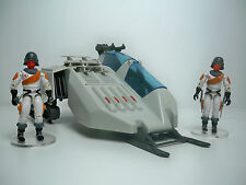 R1002089 WOLF SET GI JOE 1987 W/ ICE VIPERS FC DECALS & BLUEPRINT 100% COMPLETE