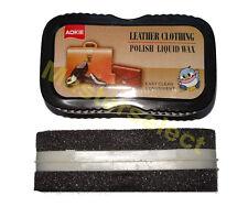 2x Brosse polish pour lustrage wax nettoyage facile du cuir et vinyl Sac,Veste