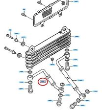 Genuine Kawasaki oil cooler pipe GPZ900R 1989 - 1993