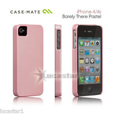 iPhone 4/4s Funda Case-Mate Barely There Rosa Pastel