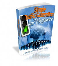 TRAFFIC Generation For Your Website - Easy Simple To Use Beginner's Guide (CD)