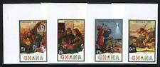 GHANA SCOTT# 817-20 CHRISTMAS 1982 IMPERF SET MNH