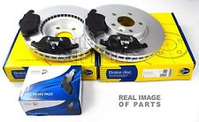FRONT AXLE BRAKE SET DISCS AND PADS FORD LAND ROVER COMLINE ADB01591 ADC1237V