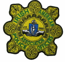 Massachusetts State Boston Irish American Police Officers Patch Garda Ireland