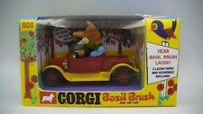 Corgi 808 Basil Brush Car Vintage 1971 Complete with Reproduction Box Near Mint