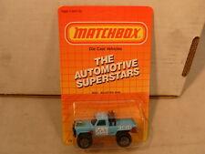 1987 MATCHBOX SUPERFAST MB57 4X4 MOUNTAIN MAN PICKUP NEW MOC