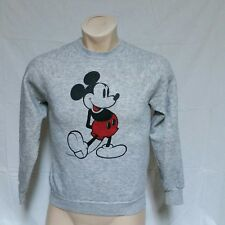 adffba81e Vintage Disney Mickey Mouse Moletom Tri Blend Heather Grey Camisa  personagem Médio