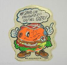 Vecchio Adesivo da Collezione / Sticker Collection PANINARO PREPPY (cm 7x9) i