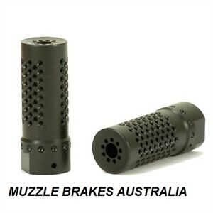 MUZZLE BRAKE COMPENSATOR CS2 TACTICAL1/2''X28 MULTI PORTED  LITHGOW 101 22LR