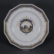Nymphenburg Teller Bayerisches Königsservice Perl porcelain plate Auliczek