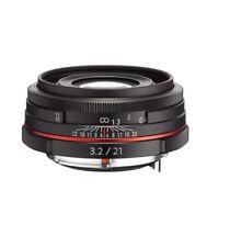 PENTAX HD DA 21mm F3.2 AL Limited Lens for K Mount Pentax-DA -Black