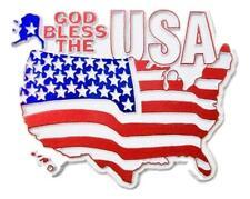 God Bless the USA Flag Fridge Magnet