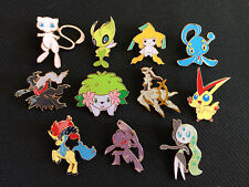 Pokemon 20th ANNIVERSARY MYTHICAL PIN SET MEW SHAYMIN VICTINI +++ ALL 11 PINS!