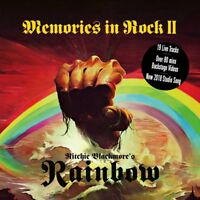 RITCHIE BLACKMORE'S RAINBOW - MEMORIES IN ROCK II (2CD+DVD)  2 CD+DVD NEU