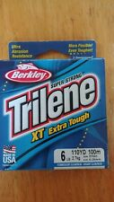 Berkley Trilene Superstrong Xt Extra Tough Fishing Line, 6 Lb,110Yd,100M Cl/Blue