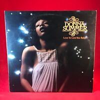 DONNA SUMMER Love To Love You Baby 1977 UK vinyl LP EXCELLENT CONDITION original