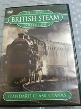 The Great British Steam Collection Dvd . Standard Class 4 Tanks. FREE POSTAGE.