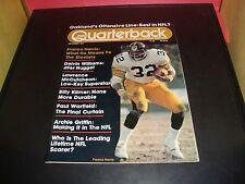Franco Harris 1977 Pro Quarterback Magazine Pittsburgh Steelers NM Condition
