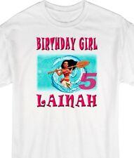 Personalisierte Moana Geburtstag Shirt Add Name & Alter für Family-Wirpool