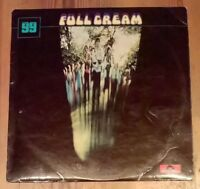 Cream  ‎– Full Cream Vinyl LP Album Stereo 33rpm Polydor ‎– 2447 010