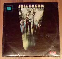 Cream  – Full Cream Vinyl LP Album Stereo 33rpm Polydor – 2447 010