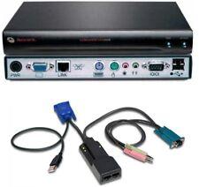 Avocent Longview 1000R LV1000R KVM VGA USB Audio Extender + AMIQDM-USB TESTED!