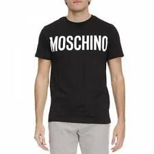 Black New Men Mens Modern Sexy Tee Top T-Shirt T-shirt Moschino