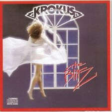 KROKUS - THE BLITZ 9 TRACK MUSIC CD - ARTWORK RIPPED - F279