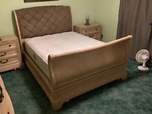 Bedroom set large 8 piece. Was $4500.